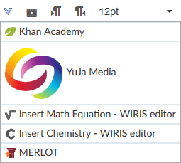 Yuja Media Tool in Canvas