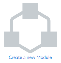 Canvas Create Module Icon