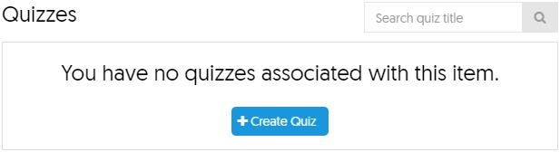 Yuja Quiz Menu